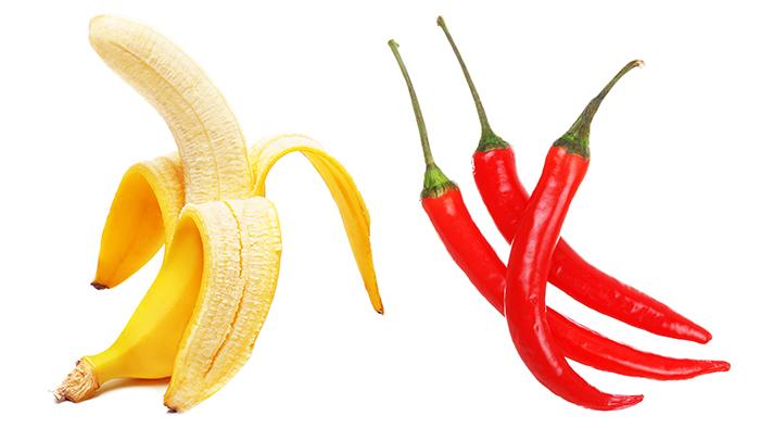 Bananele contin substante care creeaza buna dispozitie